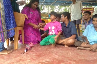 Rakhi Celebration At Lebenshilfe