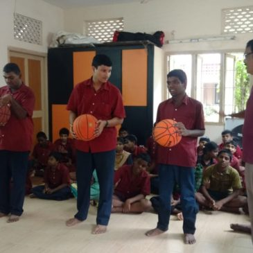 Rotary Club Organized Games At Lebenshilfe India For Mentally Challenged Kids On Sept 20th 2018