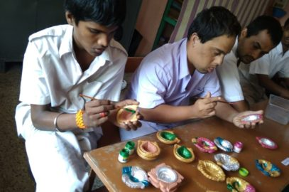 Preparations For Diwali – Festival Of Lights in Lebenshilfe